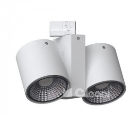 Cleoni TITO projektor track max. 2x13W, GU10, 230V, Různé barvy