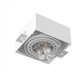 Cleoni MARA AR111 Zápustné svítidlo rahmenlos, 1x20W G53, 12V, Různé barvy