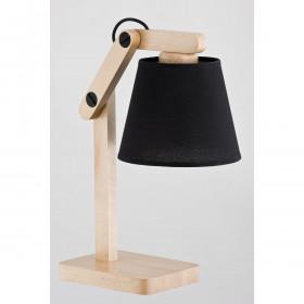 Alfa JOGA BLACK 22718 stolní lampa 60W/E27